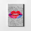 Artiful Heart Musical Lips Canvas Art