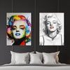 Marilyn Monroe Portrait - Iconic collection - Best Canvas Wall Art - Artiful.org