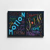 Motion Is Life - Printed Canvas - Only in Aristeas shop
