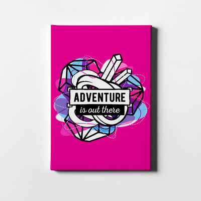 Artiful Adventure is out there motivational Canvas art
