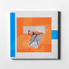Artiful Ballet flamingo II Canvas Art.