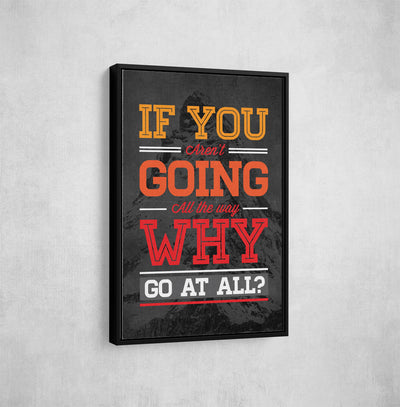 Artiful motivational entrepreneurship Canvas art