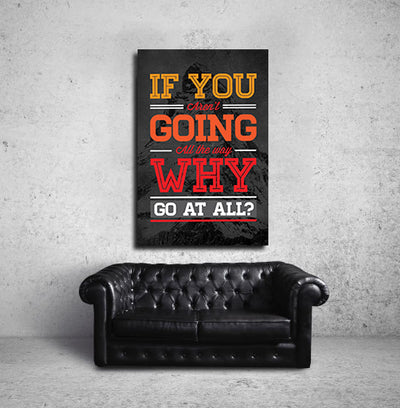 Artiful motivation Canvas wall art
