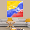 Venezuela Tricolor Canvas Art Canvas Art - Artiful coleccion de arte venezolano