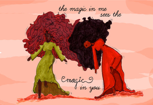 The Magic In Me - Art Print