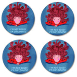 Coaster Set - I'm not bossy (4)