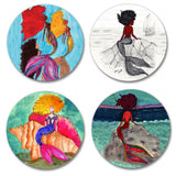 Coaster Set - Mermaids (4)