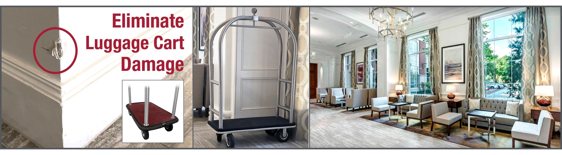 Eliminate Luggage Cart Damage with DuraBumper