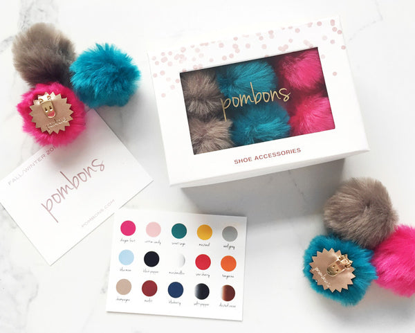 Customize Your Pombons Shoe Clips Box
