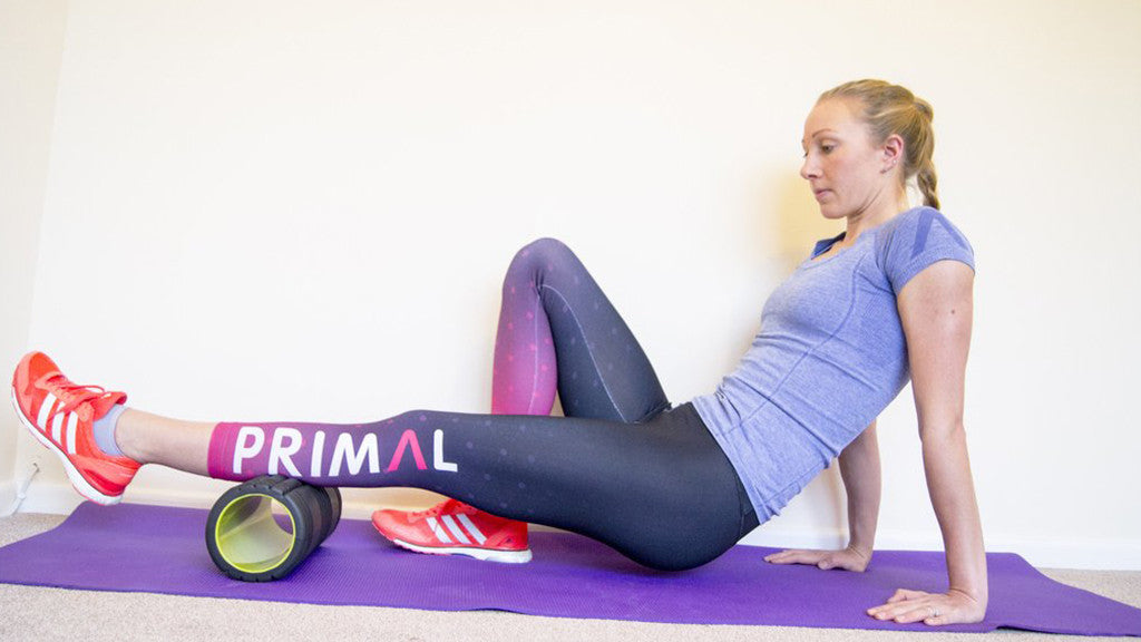 Bronze Medal Paralympian, Nicole talks us through using a Foam Roller.