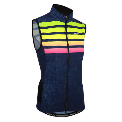 Chameleon Women's 4 Pocket Cycling Wind Vest -  Custom Cycling Clothing and accessories online - Primal Europe