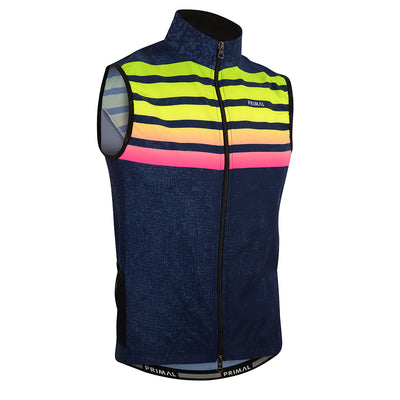 Chameleon Men's 4 Pocket Cycling Wind Vest / Gilet -  Custom Cycling Clothing and accessories online - Primal Europe