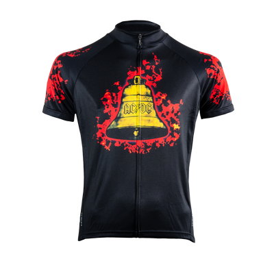 Men's AC/DC Hells Bells Jersey -  Custom Cycling Clothing and accessories online - Primal Europe