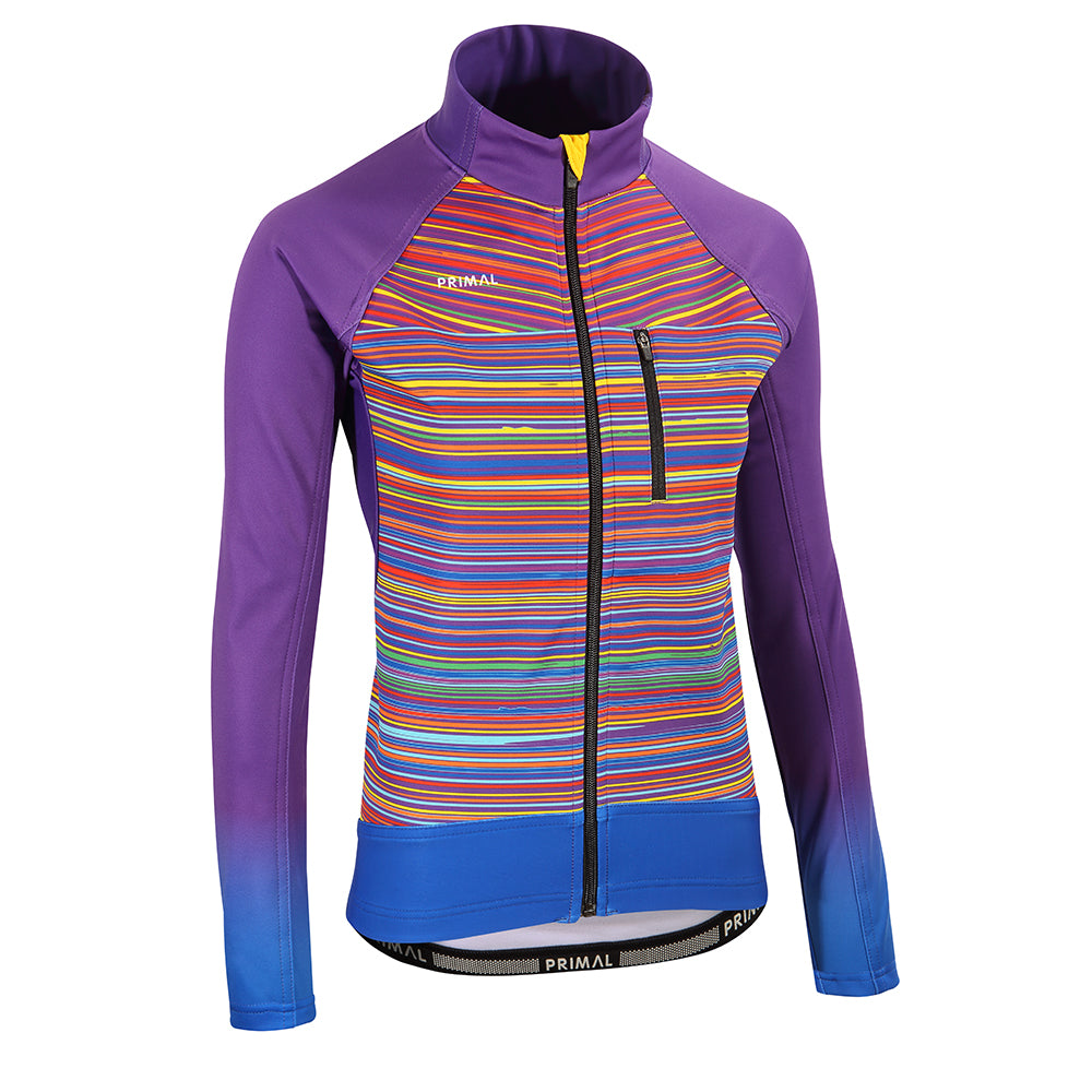 Kismet Rainbow Aliti Cycling Jacket -  Custom Cycling Clothing and accessories online - Primal Europe