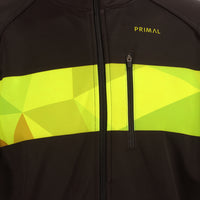 Triangular Neon Aliti Cycling Jacket -  Custom Cycling Clothing and accessories online - Primal Europe