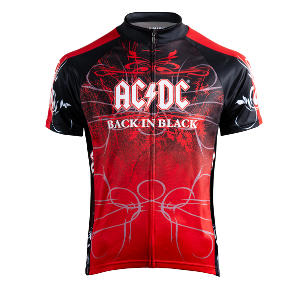 Men's AC/DC Back in Black Jersey - Primal Europe Cycling clothing