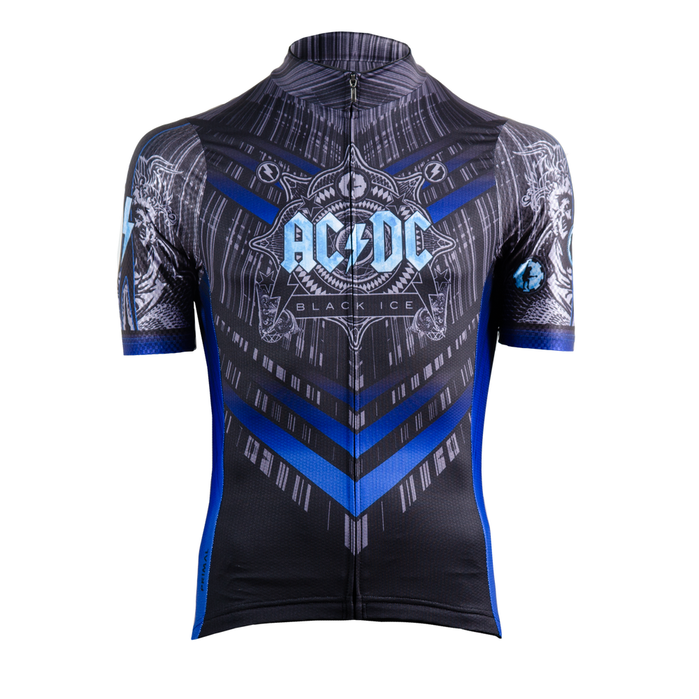 Men's AC/DC Black Ice Helix Jersey -  Custom Cycling Clothing and accessories online - Primal Europe