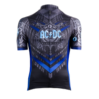 Men's AC/DC Black Ice Helix Jersey - Primal Europe Cycling clothing