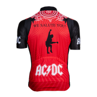 Men's AC/DC For Those About To Rock Helix Jersey - Primal Europe Cycling clothing