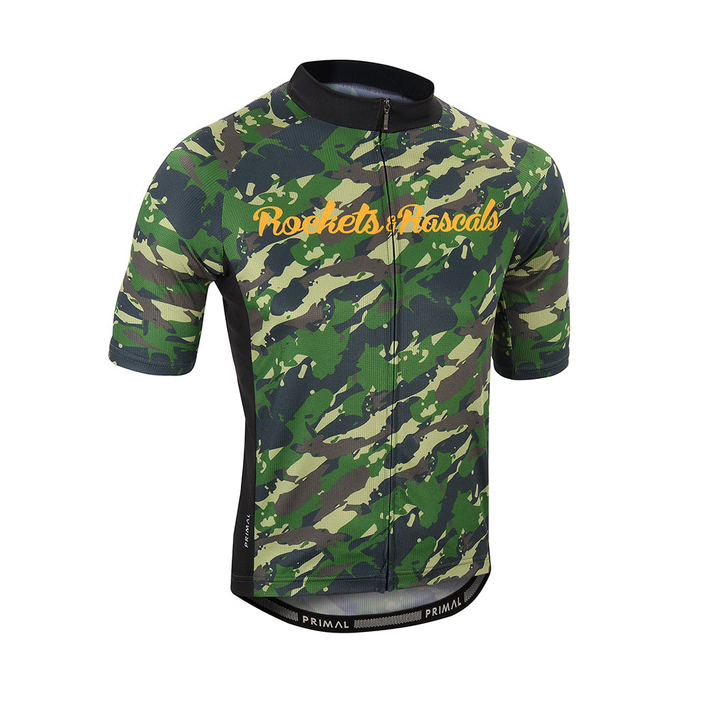 Men's Rockets & Rascals Combat Jersey - Primal Europe Cycling clothing