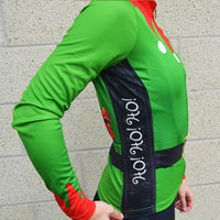 Women's L/S Elf Christmas Cycling Jersey