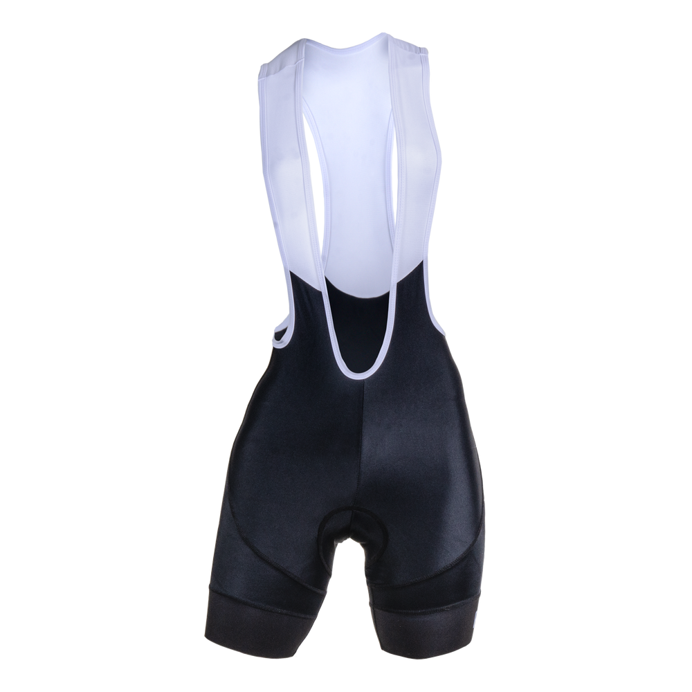 Ebony Womens Evo 2.0 Cycling Bib Shorts - Black Colourway