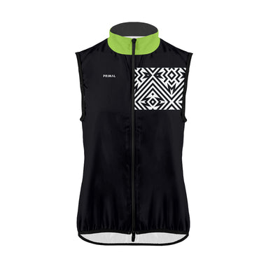 Men's Electric Patch Wind Vest -  Custom Cycling Clothing and accessories online - Primal Europe