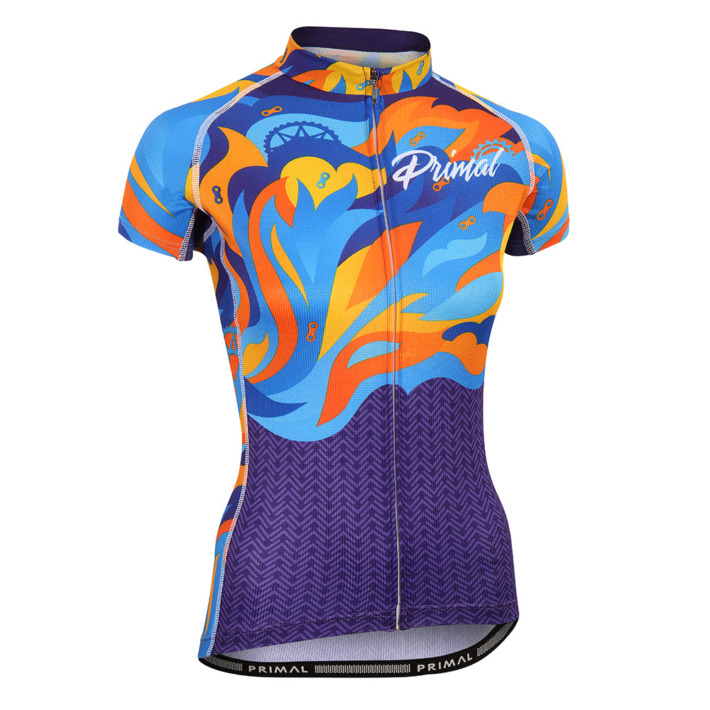 Fierce Women's Evo Jersey -  Custom Cycling Clothing and accessories online - Primal Europe