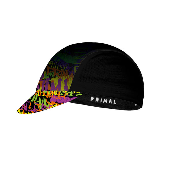 Graffiti Cycling Cap -  Custom Cycling Clothing and accessories online - Primal Europe