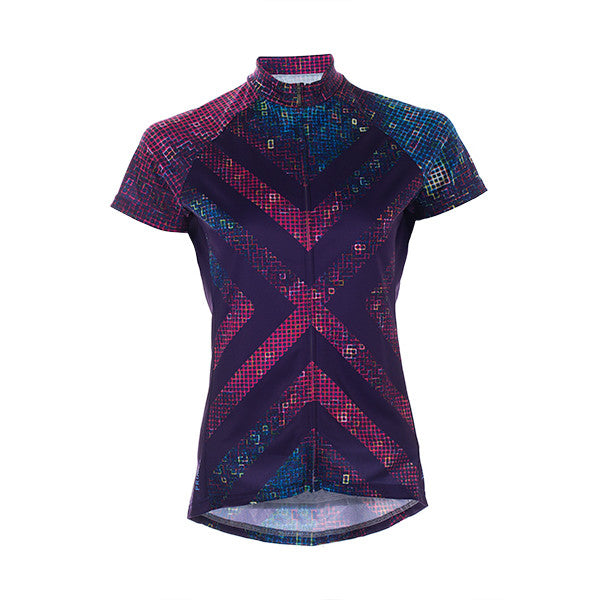 Pixel8 Women's Cycling Jersey -  Custom Cycling Clothing and accessories online - Primal Europe