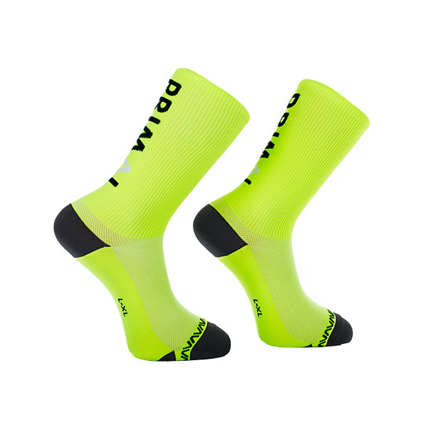 Neon Logo Cycling Socks -  Custom Cycling Clothing and accessories online - Primal Europe
