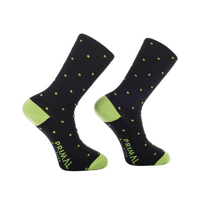 Primal Polka Cycling Socks -  Custom Cycling Clothing and accessories online - Primal Europe