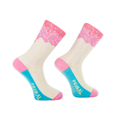 Ice Cream Cycling Socks -  Custom Cycling Clothing and accessories online - Primal Europe