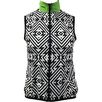 Front of Men's Electric Patch cycling Wind Vest