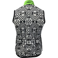 Back of Men's Electric Patch Wind Vest