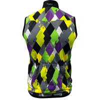 Back of Men's Diamond Geezers Wind Vest