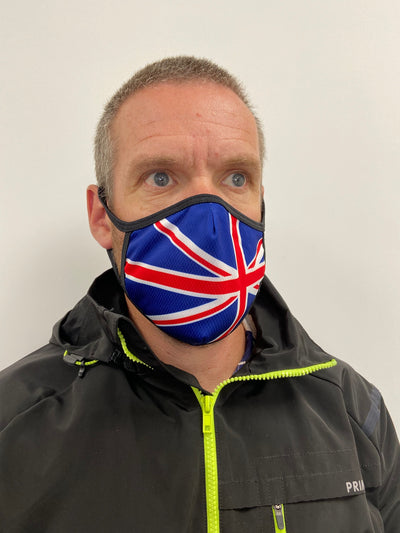 British Design Face Mask -  Custom Cycling Clothing and accessories online - Primal Europe