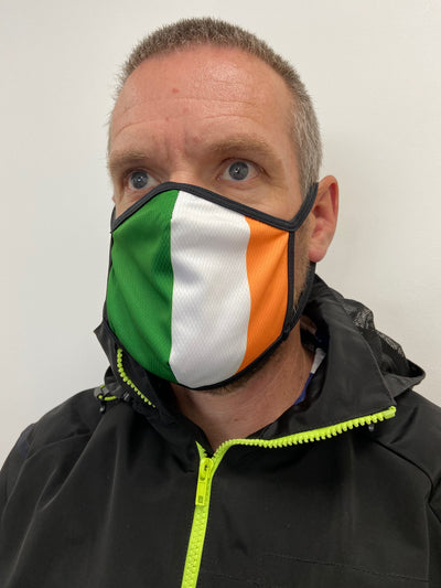 Ireland Design Face Mask -  Custom Cycling Clothing and accessories online - Primal Europe