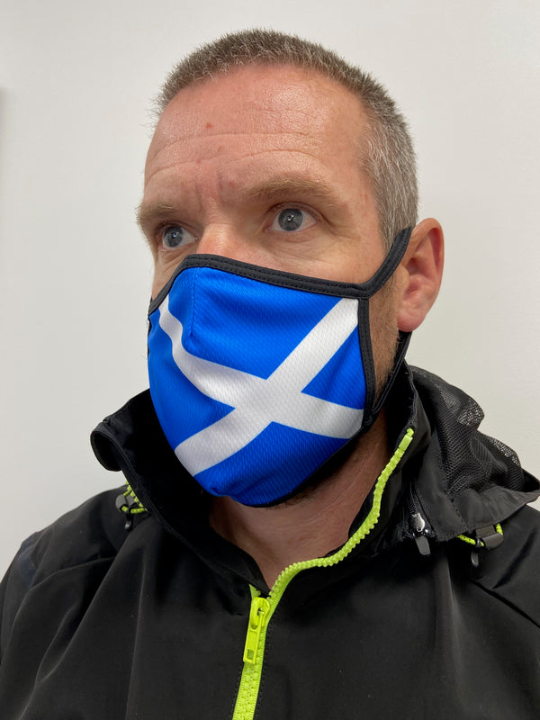 Scotland Design Face Mask -  Custom Cycling Clothing and accessories online - Primal Europe