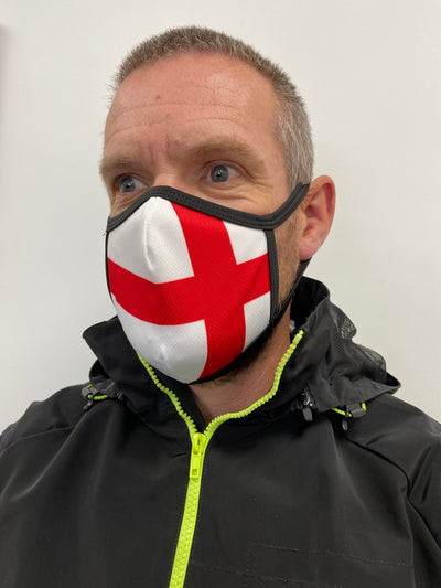 England Design Face Mask -  Custom Cycling Clothing and accessories online - Primal Europe
