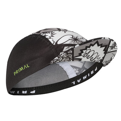 Comic Book Cycling Cap -  Custom Cycling Clothing and accessories online - Primal Europe