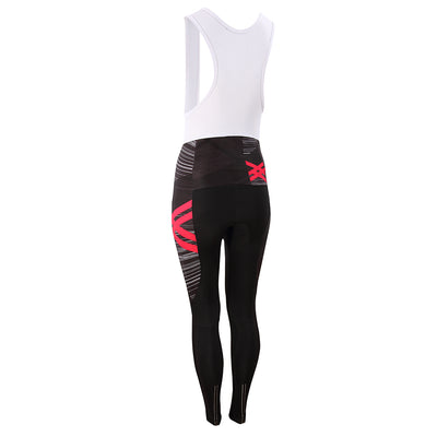 Women's Asonic Pink Bib Tights -  Custom Cycling Clothing and accessories online - Primal Europe