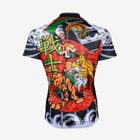 Japanese Warrior Men's Sport Cut Cycling Jersey - Primal Europe Cycling clothing