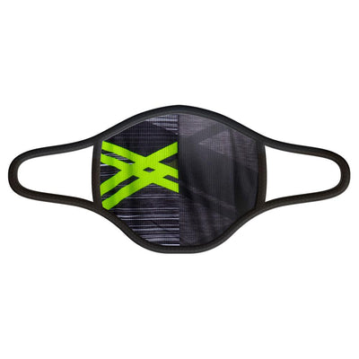 Asonic Green Face Mask -  Custom Cycling Clothing and accessories online - Primal Europe