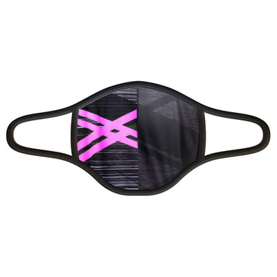 Asonic Pink Face Mask -  Custom Cycling Clothing and accessories online - Primal Europe