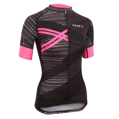 Team Primal Asonic Pink Women's EVO 2.0 Jersey -  Custom Cycling Clothing and accessories online - Primal Europe