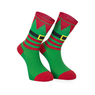 Elf Christmas Socks