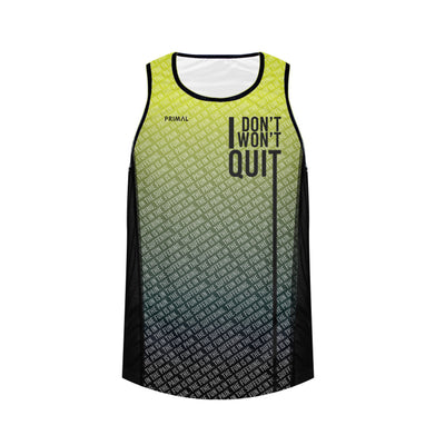 Men's I Don't, I Won't Quit Running Vest PREORDER