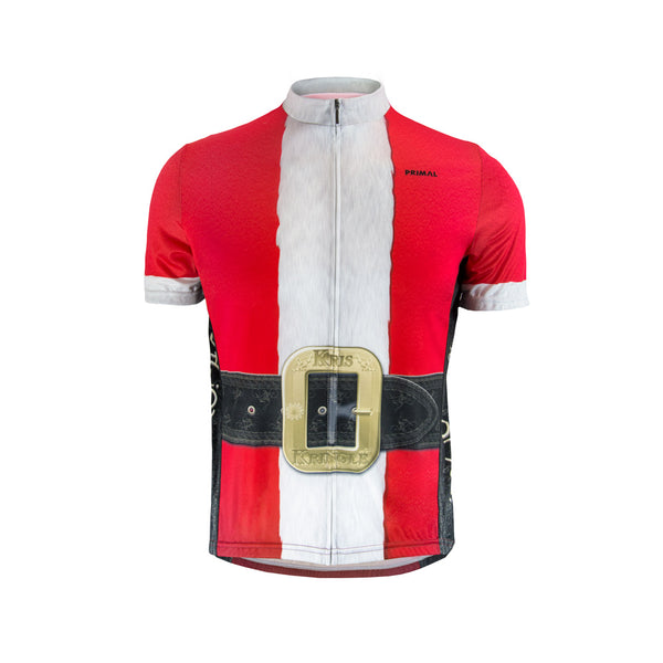 Men's Santa Jersey -  Custom Cycling Clothing and accessories online - Primal Europe