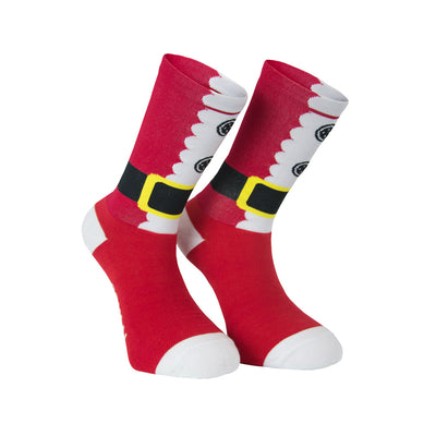 Santa Cycling Socks -  Custom Cycling Clothing and accessories online - Primal Europe